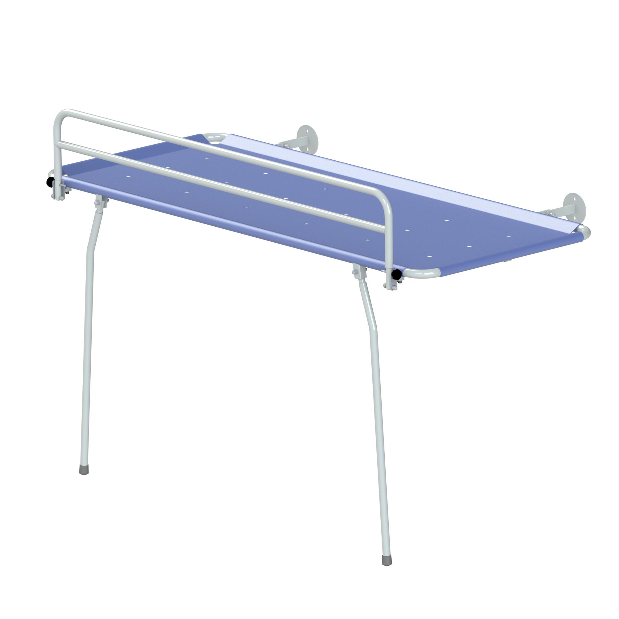 detail trolley shower sotec in en france by medical