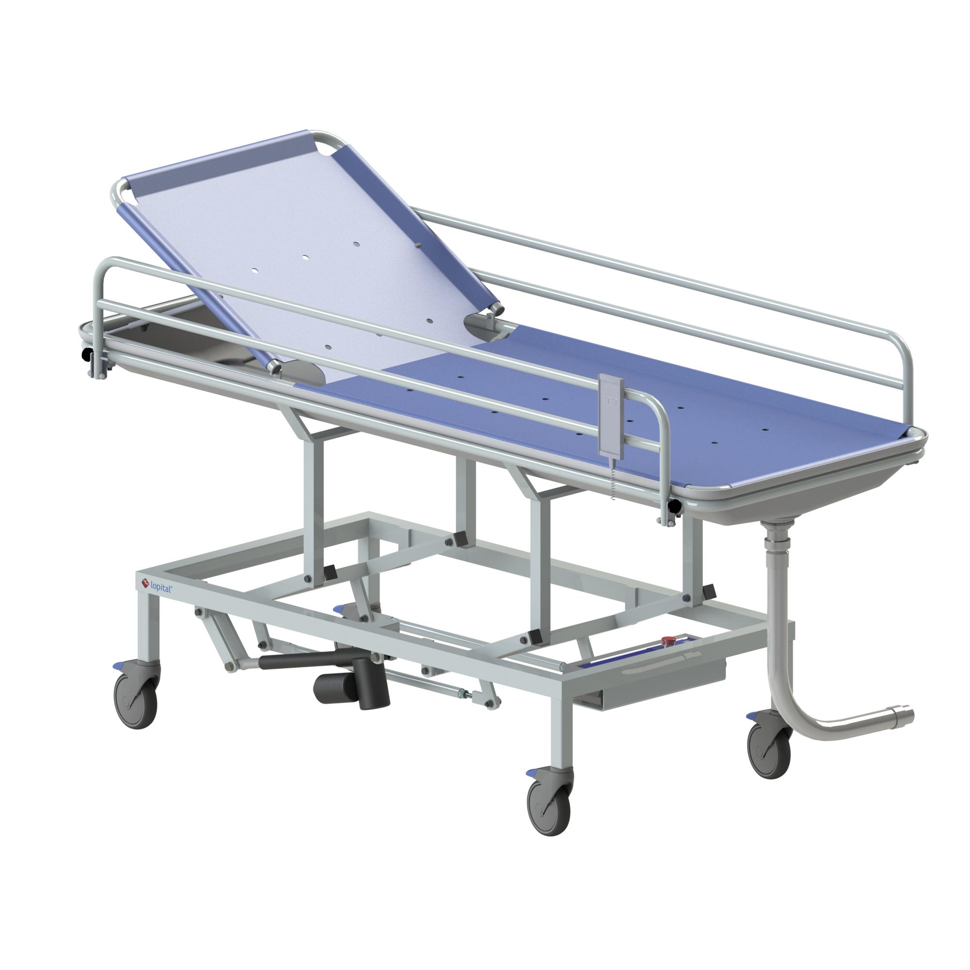 douche product procare medical lopital chair adjustable shower elexo flexo toilet toiletstoel trolley